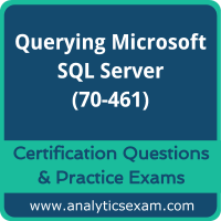 70-461 Dumps Free, 70-461 PDF Download, Querying Microsoft SQL Server Dumps Free, Querying Microsoft SQL Server PDF Download, 70-461 Certification Dumps, 70-461 VCE, Querying Microsoft SQL Server Certification Dumps, 70-461 Exam Questions PDF