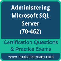 70-462 Dumps Free, 70-462 PDF Download, Administering Microsoft SQL Server Dumps Free, Administering Microsoft SQL Server PDF Download, 70-462 Certification Dumps, 70-462 VCE, Administering Microsoft SQL Server Certification Dumps, 70-462 Exam Questions PDF