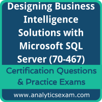 70-467 Dumps Free, 70-467 PDF Download, Designing Business Intelligence Solutions with Microsoft SQL Server Dumps Free, Designing Business Intelligence Solutions with Microsoft SQL Server PDF Download, 70-467 Certification Dumps, 70-467 VCE, Designing Business Intelligence Solutions with Microsoft SQL Server Certification Dumps, 70-467 Exam Questions PDF