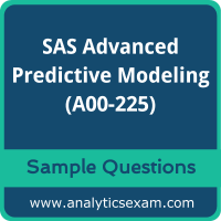 A00-225 Dumps Free, A00-225 PDF Download, SAS Advanced Analytics Professional Dumps Free, SAS Advanced Analytics Professional PDF Download, A00-225 Free Download
