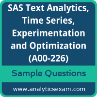 A00-226 Dumps Free, A00-226 PDF Download, SAS Advanced Analytics Professional Dumps Free, SAS Advanced Analytics Professional PDF Download, A00-226 Free Download