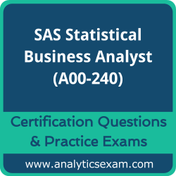A00-240 Dumps Free, A00-240 PDF Download, SAS Statistical Business Analyst Dumps Free, SAS Statistical Business Analyst PDF Download, A00-240 Certification Dumps, A00-240 VCE, SAS Statistical Business Analyst Certification Dumps, A00-240 Exam Questions PDF