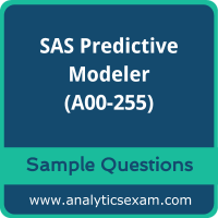 A00-255 Dumps Free, A00-255 PDF Download, SAS Predictive Modeler Dumps Free, SAS Predictive Modeler PDF Download, A00-255 Free Download