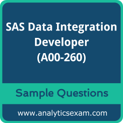 A00-260 Dumps Free, A00-260 PDF Download, SAS Data Integration Developer Dumps Free, SAS Data Integration Developer PDF Download, SAS Certified Data Integration Developer for SAS 9 Certification, A00-260 Free Download, A00-260 VCE, SAS Data Integration Developer Certification Dumps, A00-260 Exam Questions PDF