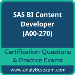 A00-270 Dumps Free, A00-270 PDF Download, SAS BI Content Developer Dumps Free, SAS BI Content Developer PDF Download, A00-270 Certification Dumps, A00-270 VCE, SAS BI Content Developer Certification Dumps, A00-270 Exam Questions PDF