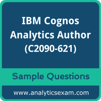 C2090-621 Dumps Free, C2090-621 PDF Download, IBM Cognos Analytics Author Dumps Free, IBM Cognos Analytics Author PDF Download, C2090-621 Free Download