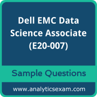 E20-007 Dumps Free, E20-007 PDF Download, Dell EMC Data Science Associate Dumps Free, Dell EMC Data Science Associate PDF Download, E20-007 Free Download