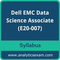 E20-007 Syllabus, E20-007 PDF Download, Dell EMC E20-007 Dumps, Dell EMC Data Science Associate Dumps PDF Download, Dell EMC Data Science and Big Data Analytics PDF Download