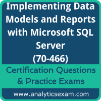 Implementing Data Models and Reports with Microsoft SQL Server