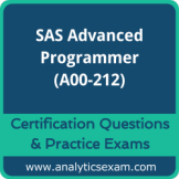 SAS Certified Advanced Programmer