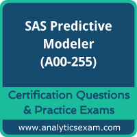 SAS Predictive Modeling Using SAS Enterprise Miner 14  (A00-255)
