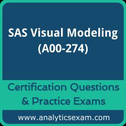 SAS Certified Visual Modeling Using SAS Visual Statistics 8.4 (A00-274)