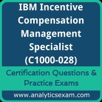IBM Certified Specialist - Incentive Compensation Management V10 (C1000-028) Pre