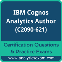 IBM Certified Designer - IBM Cognos Analytics Author V11 (C2090-621) Premium Pra