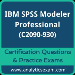 IBM Certified Specialist - SPSS Modeler Professional v3 (C2090-930) Premium Prac