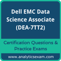 Dell EMC Data Science and Big Data Analytics (DEA-7TT2) Premium Practice Exam