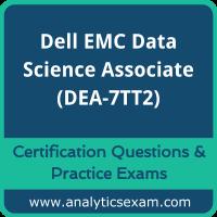 Dell EMC Data Science and Big Data Analytics (DEA-7TT2) Premium Practice Exam