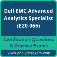 Dell EMC Advanced Analytics Specialist for Data Scientists (E20-065) Premium Pra