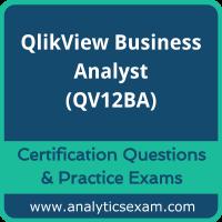 QlikView Business Analyst (QV12BA) Premium Practice Exam