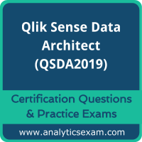 Qlik Sense Data Architect (QSDA2019) Premium Practice Exam