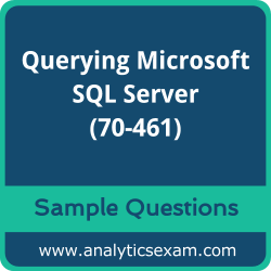70-461 Dumps Free, 70-461 PDF Download, Querying Microsoft SQL Server Dumps Free, Querying Microsoft SQL Server PDF Download, Querying Microsoft SQL Server 2012/2014 Certification, 70-461 Free Download, 70-461 VCE, Querying Microsoft SQL Server Certification Dumps, 70-461 Exam Questions PDF SQL Server Certification Dumps