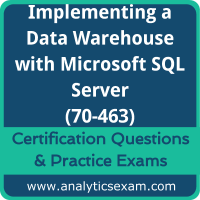70-463 Dumps Free, 70-463 PDF Download, Implementing a Data Warehouse with Microsoft SQL Server Dumps Free, Implementing a Data Warehouse with Microsoft SQL Server PDF Download, 70-463 Certification Dumps, 70-463 VCE, Implementing a Data Warehouse with Microsoft SQL Server Certification Dumps, 70-463 Exam Questions PDF