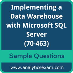 70-463 Dumps Free, 70-463 PDF Download, Implementing a Data Warehouse with Microsoft SQL Server Dumps Free, Implementing a Data Warehouse with Microsoft SQL Server PDF Download, Implementing a Data Warehouse with Microsoft SQL Server 2012/2014 Certification, 70-463 Free Download, 70-463 VCE, Implementing a Data Warehouse with Microsoft SQL Server Certification Dumps, 70-463 Exam Questions PDF SQL Server Certification Dumps