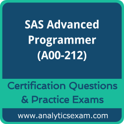 A00-212 Dumps Free, A00-212 PDF Download, SAS Advanced Programmer Dumps Free, SAS Advanced Programmer PDF Download, A00-212 Certification Dumps, A00-212 VCE, SAS Advanced Programmer Certification Dumps, A00-212 Exam Questions PDF