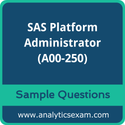 A00-250 Dumps Free, A00-250 PDF Download, SAS Platform Administrator Dumps Free, SAS Platform Administrator PDF Download, SAS Certified Platform Administrator for SAS 9 Certification, A00-250 Free Download, A00-250 VCE, SAS Platform Administrator Certification Dumps, A00-250 Exam Questions PDF