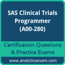 A00-280 Dumps Free, A00-280 PDF Download, SAS Clinical Trials Programmer Dumps Free, SAS Clinical Trials Programmer PDF Download, A00-280 Certification Dumps, A00-280 VCE, SAS Clinical Trials Programmer Certification Dumps, A00-280 Exam Questions PDF