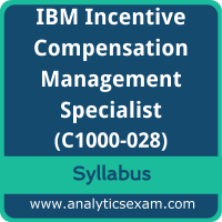 C1000-028 Syllabus, C1000-028 PDF Download, IBM C1000-028 Dumps, IBM Incentive Compensation Management Specialist Dumps PDF Download, IBM Certified Specialist - Incentive Compensation Management V10 PDF Download