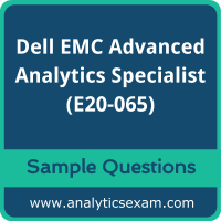 E20-065 Syllabus, E20-065 PDF Download, Dell EMC E20-065 Dumps, Dell EMC Advanced Analytics Specialist Dumps PDF Download, Dell EMC Advanced Analytics Specialist for Data Scientists PDF Download