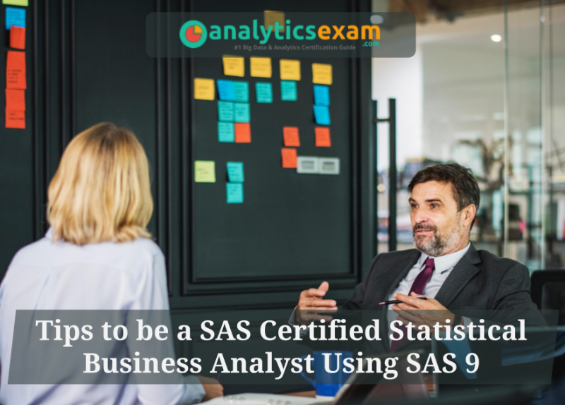 SAS A00-240, SAS Stistical Business Analytics