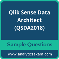 QSDA2018 Dumps Free, QSDA2018 PDF Download, Qlik Sense Data Architect Dumps Free, Qlik Sense Data Architect PDF Download, QSDA2018 Free Download