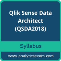 QSDA2018 Syllabus, QSDA2018 PDF Download, Qlik QSDA2018 Dumps, Qlik Sense Data Architect Dumps PDF Download, Qlik Sense Data Architect PDF Download