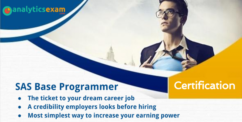 SAS Base Programmer Certification, a Key to build Career and High ...