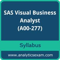 A00-277 Syllabus, A00-277 PDF Download, SAS A00-277 Dumps, SAS Visual Business Analyst Dumps PDF Download, SAS Certified Visual Business Analyst - Exploration and Design Using SAS Visual Analytics PDF Download