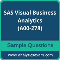 A00-278 Dumps Free, A00-278 PDF Download, SAS Visual Business Analytics Dumps Free, SAS Visual Business Analytics PDF Download, A00-278 Free Download