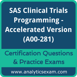 SAS A00-281 Dumps, SAS A00-281 Dumps Free Download, SAS A00-281 PDF, A00-281 Actualtests PDF, A00-281 VCE, A00-281 Braindumps