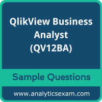 QV12BA Dumps Free, QV12BA PDF Download, QlikView Business Analyst Dumps Free, QlikView Business Analyst PDF Download, QV12BA Free Download