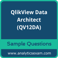 QV12DA Dumps Free, QV12DA PDF Download, QlikView Data Architect Dumps Free, QlikView Data Architect PDF Download, QV12DA Free Download