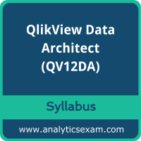 QV12DA Syllabus, QV12DA PDF Download, Qlik QV12DA Dumps, QlikView Data Architect Dumps PDF Download, QlikView Data Architect PDF Download