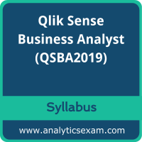 QSBA2019 Syllabus, QSBA2019 PDF Download, Qlik QSBA2019 Dumps, Qlik Sense Business Analyst Dumps PDF Download, Qlik Sense Business Analyst PDF Download