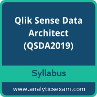 QSDA2019 Syllabus, QSDA2019 PDF Download, Qlik QSDA2019 Dumps, Qlik Sense Data Architect Dumps PDF Download, Qlik Sense Data Architect PDF Download
