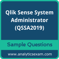 QSSA2019 Dumps Free, QSSA2019 PDF Download, Qlik Sense System Administrator Dumps Free, Qlik Sense System Administrator PDF Download, QSSA2019 Free Download
